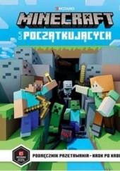 Okładka książki Minecraft dla początkujących. Podręcznik przetrwania - krok po kroku