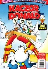 Okładka książki Kaczor Donald, nr 2 (1003) / 2020