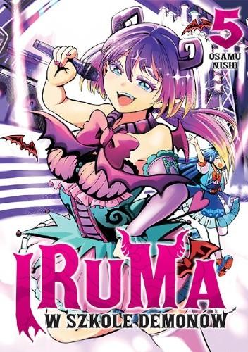 Okładka książki Iruma w szkole demonów #5 Osamu Nishi