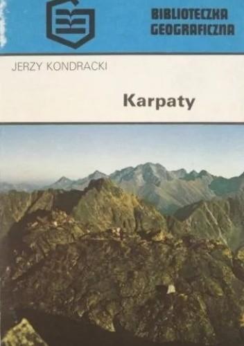 Okładka książki Karpaty Jerzy Kondracki