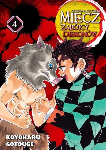 Okładka książki Miecz zabójcy demonów - Kimetsu no Yaiba #4 Koyoharu Gotouge