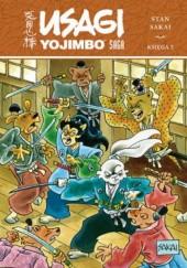 Okładka książki Usagi Yojimbo Saga. Księga 5