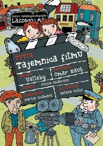 Okładka książki Tajemnica filmu Martin Widmark,Helena Willis