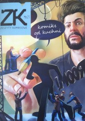 Okładka książki Zeszyty komiksowe #21: Komiks od kuchni