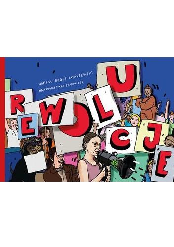 Okładka książki Rewolucje Boguś Janiszewski