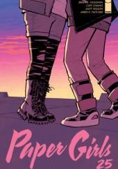Okładka książki Paper Girls, Volume 25