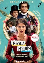 Okładka książki Enola Holmes. Sprawa zaginionego markiza