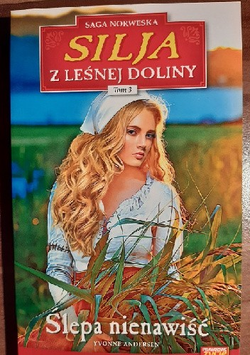 Okładka książki Ślepa nienawiść Yvonne Andersen