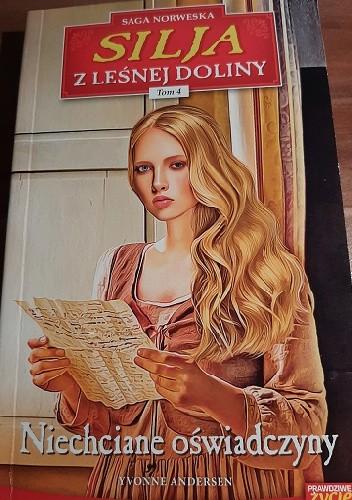 Okładka książki Niechciane oświadczyny Yvonne Andersen