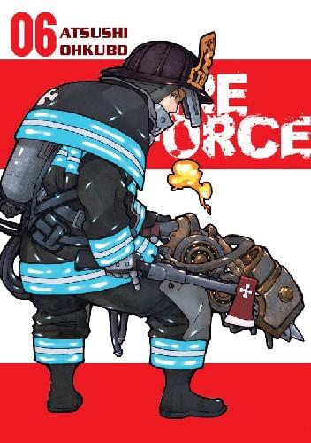 Okładka książki Fire Force #6 Ohkubo Atsushi