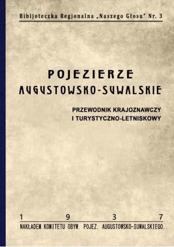 Okładka książki Pojezierze Augustowsko-Suwalskie Józef Witek