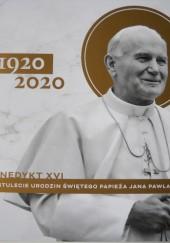 Okładka książki Na stulecie urodzin Świętego Papieża Jana Pawła II