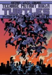 Okładka książki Teenage Mutant Ninja Turtles- Vol.19- Invasion of the Triceratons