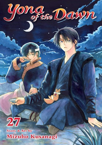 Okładka książki Yona of the Dawn volume 27 Mizuho Kusanagi