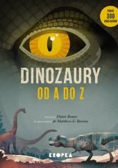 Okładka książki Dinozaury od A do Z