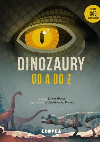 Okładka książki Dinozaury od A do Z Dieter Braun