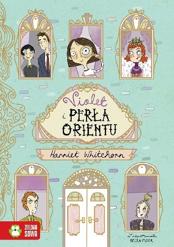 Okładka książki Violet i Perła Orientu Harriet Whitehorn