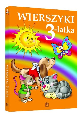 Okładka książki Wierszyki 3-latka Stanisław Jachowicz,Maria Konopnicka,Dorota Strzemińska-Więckowiak