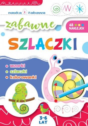 Okładka książki Zabawne szlaczki Ewa Gorzkowska-Parnas
