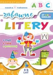Okładka książki Zabawne litery