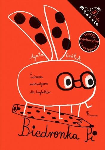 Okładka książki Biedronka Pi. Ćwiczenia matematyczne dla trzylatków Agata Królak