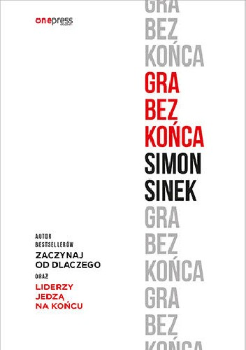 Okładka książki Gra bez końca Simon Sinek