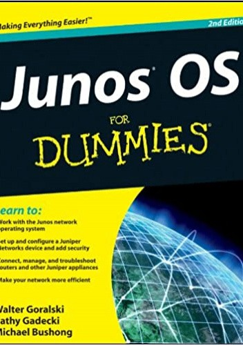 Okładka książki JUNOS OS For Dummies Garrett