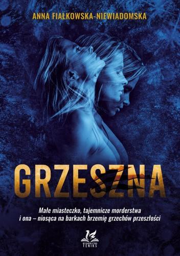 Okładka książki Grzeszna Anna Fiałkowska-Niewiadomska