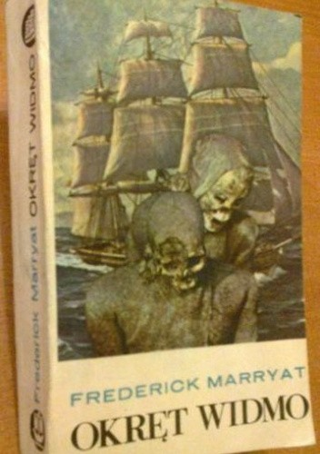 Okładka książki Okręt widmo Frederick Marryat