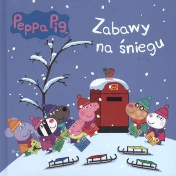 Okładka książki Świnka Peppa. Zabawy na śniegu praca zbiorowa