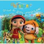 Okładka książki Wissper. Głowa do góry, orangutanie!