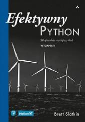 Okładka książki Efektywny Python. 90 sposobów na lepszy kod. Wydanie II