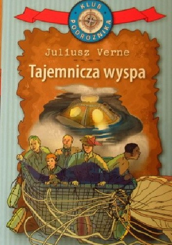 Okładka książki Tajemnicza wyspa Juliusz Verne
