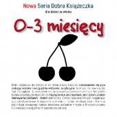 Okładka książki Nowa Seria Dobra Książeczka 0-3 miesięcy