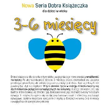 Okładka książki Nowa Seria Dobra Książeczka 3-6 miesięcy Karolina Cichoń-Wydrych,Agnieszka Starok