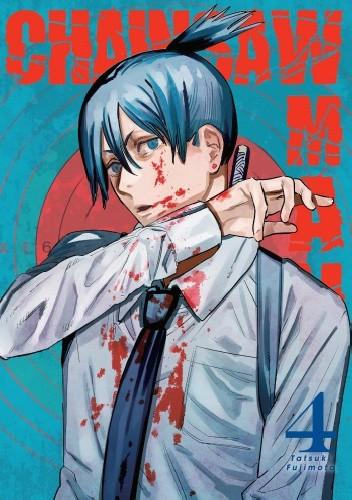Okładka książki Chainsaw Man tom 4 Tatsuki Fujimoto
