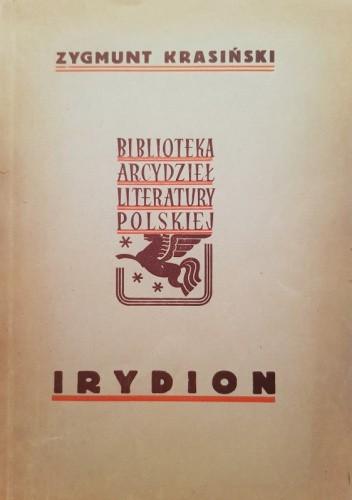 Okładka książki Irydion Zygmunt Krasiński