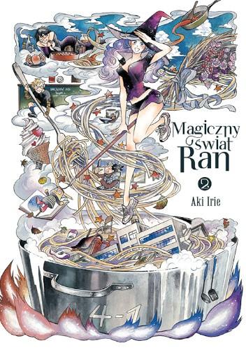 Okładka książki Magiczny świat Ran #2 Aki Irie