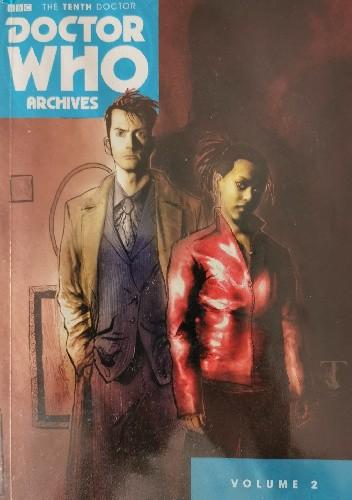 Okładka książki The Tenth Doctor Archives: Volume 2 Tony Lee,Matthew Dow Smith,Ben Templesmith