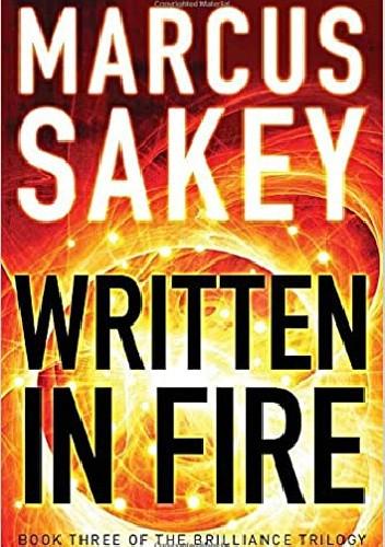 Okładka książki Written in Fire Marcus Sakey