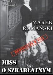 Okładka książki Miss o szkarłatnym spojrzeniu