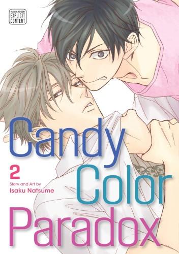 Okładka książki Candy Color Paradox #2 Natsume Isaku