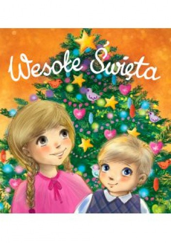 Okładka książki Wesołe Święta Urszula Kozłowska