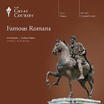 Okładka książki Famous Romans J. Rufus Fears