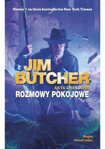 Okładka książki Rozmowy pokojowe Jim Butcher