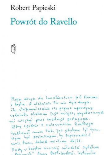 Okładka książki Powrót do Ravello Robert Papieski