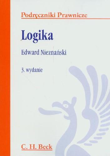 Okładka książki Logika Edward Nieznański