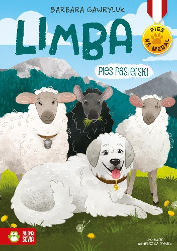 Okładka książki Limba. Pies Pasterski Agnieszka Dymek,Barbara Gawryluk