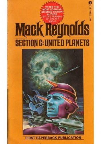 Okładka książki Section G: United Planets Mack Reynolds