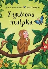 Okładka książki Zagubiona małpka